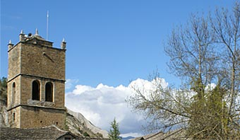 Antigua iglesia de Morillo de Tou